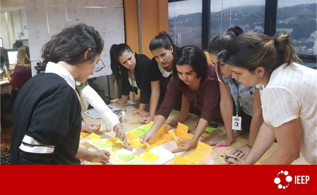 Desenvolvimento de lideranças: brainstorming