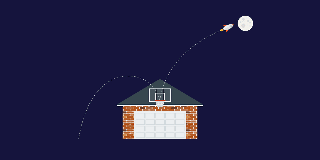 Metas rooftop e moonshot